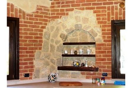 Декоративный кирпич из потолочной плитки своими руками 143