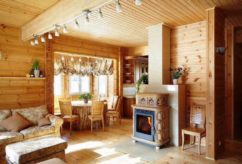 Дизайн деревенского дома маленького