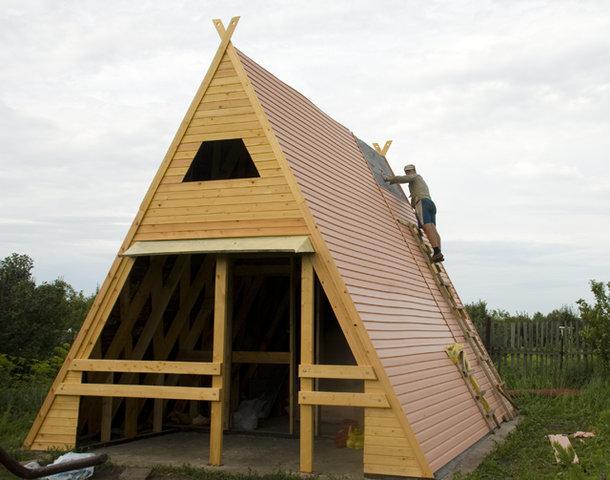 Простейший дачный домик