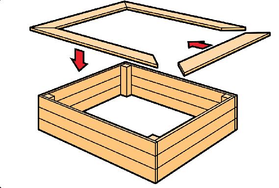 Песочница своими руками с крышкой и размерами