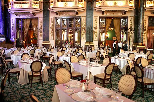 Ресторан в стиле ампир