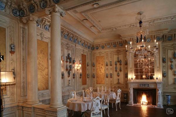 Ресторан в стиле барокко