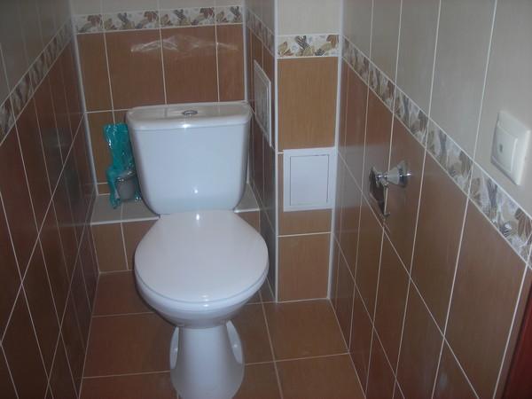 Укладка плитки своими руками в туалете