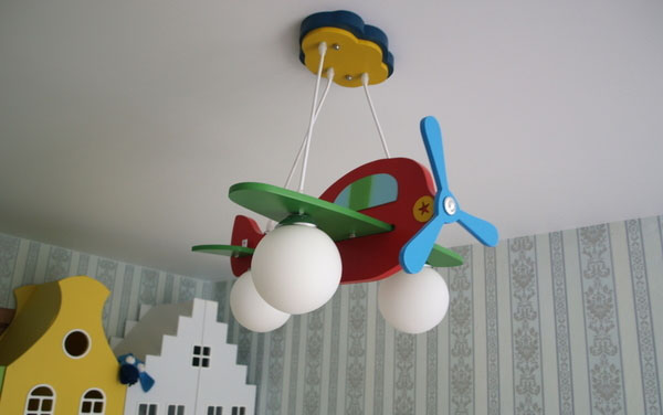 Детский потолочный светильник своими руками 50