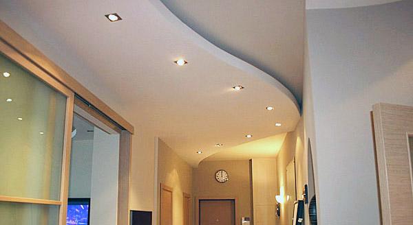Подвесной потолок в прихожей - Комфорт сервис