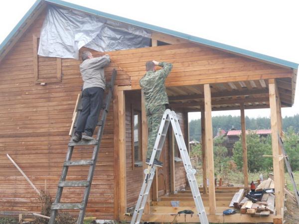 Ремонт домика в деревни своими руками