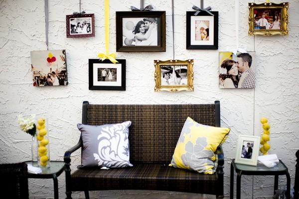 Как красиво повесить фотографии на стену - схемы и 50 фото