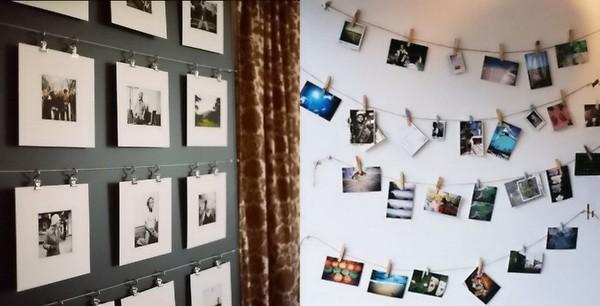Как оформить стену фотографиями своими руками без рамок 50