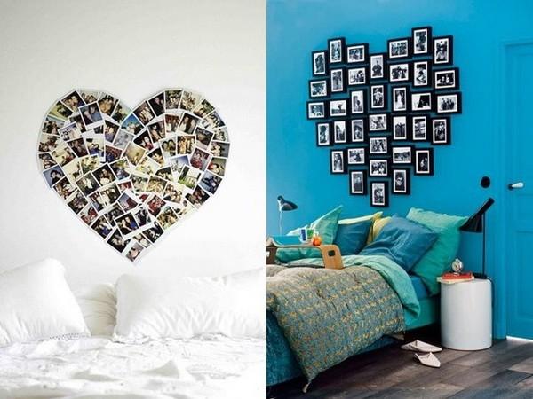 Идеи как развесить фото на стене