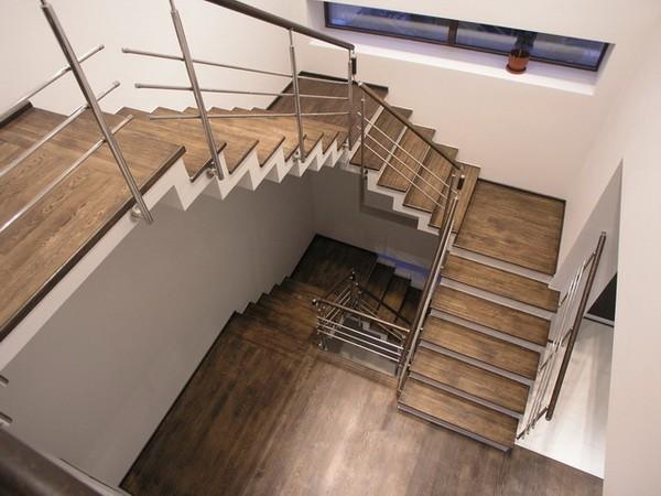Лестница своими руками фото варианты отделки фото