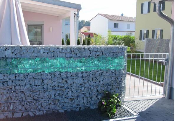 Стеклянный забор своими руками 501