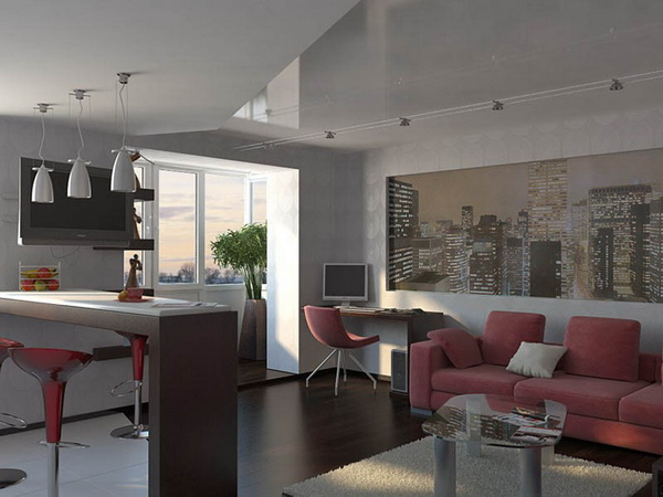 Отделка квартиры в стиле «Хай-тек»