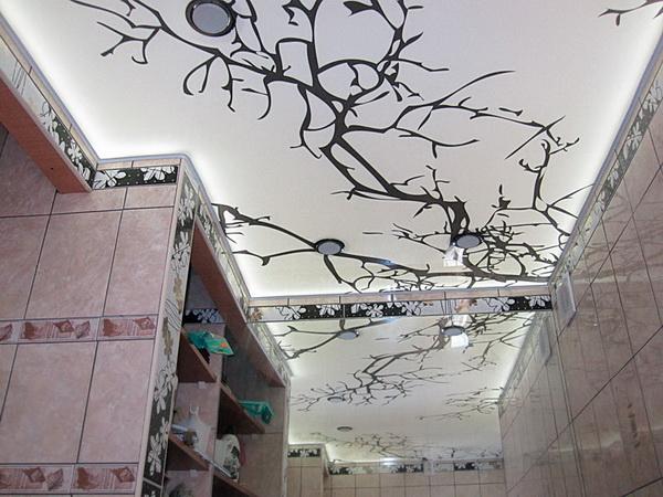 Красивые потолки