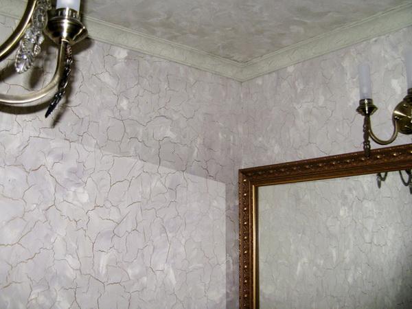 Кракелюр для стен своими руками