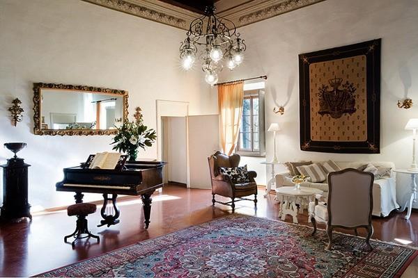 классические ковры в интерьере фото