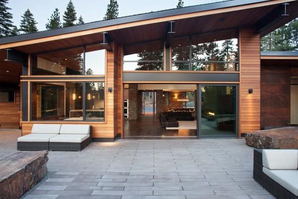 фото домов из дерева красивых
