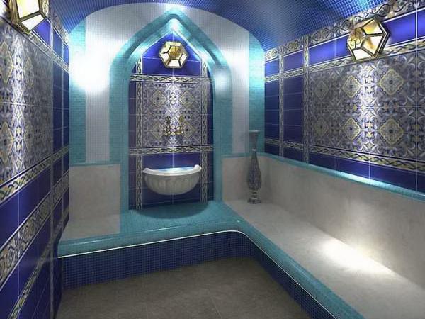 Керамическая плитка в баню на пол