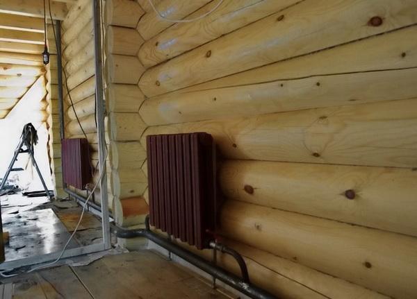 Отопление частного дома регистрами