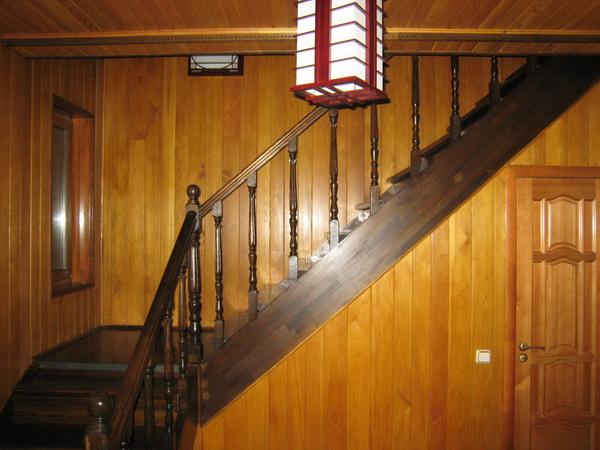 Отделка деревянного дома вагонкой