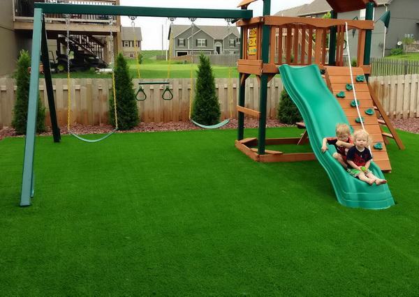 Image result for детская площадка искусственный газон