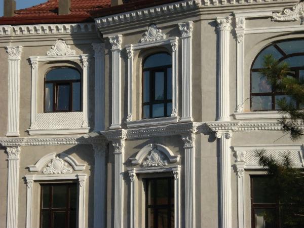 Фибробетон в фасадном декоре цена мешка цемента м500 в москве